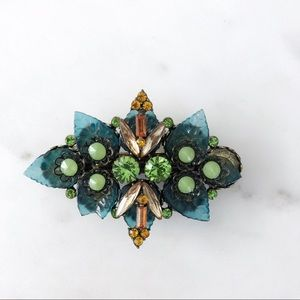 Anthropologie jeweled hair clip